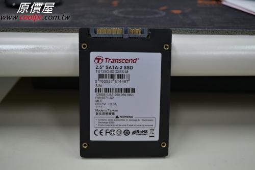 原價屋@酷!PC \u2022 檢視主題- Transcend創見TS128GSSD25S-M,128GB MLC SSD。
